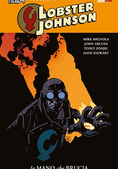 Cover image of Lobster Johnson #2 (ITA), color