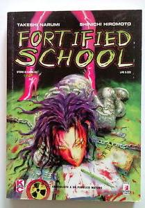 Cover image of Fortified School #1 (ITA), black&white