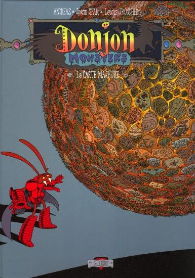 Cover image of Donjon Monster 3 - La carte majeur, color
