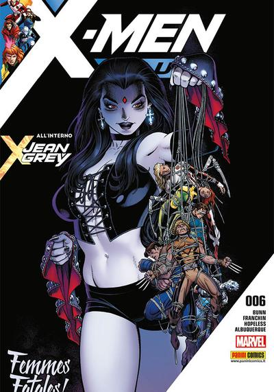 Cover image of X-Men Blu #6, color