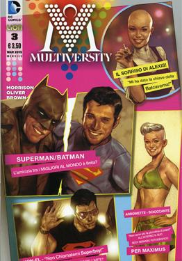 Cover image of Multiversity #3 (ITA), color