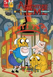 Cover image of Adventure Time #5 (ITA), color