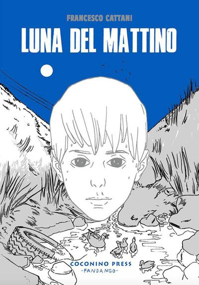 Cover image of Luna del mattino, black&white