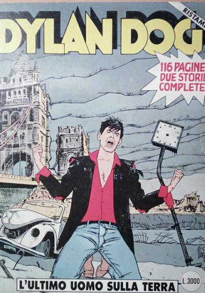 Cover image of Dylan Dog #77, black&white