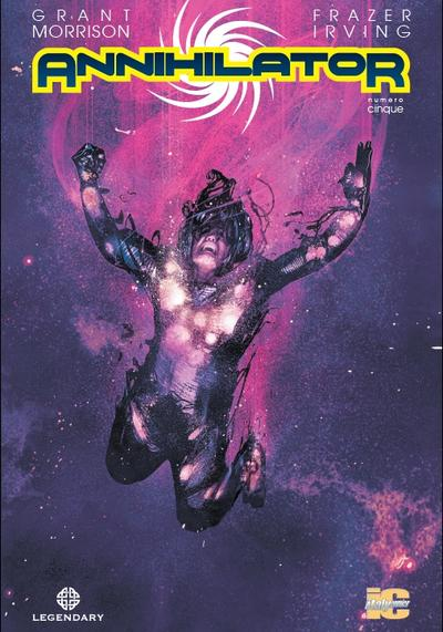 Cover image of Annihilator #5 (ITA), color