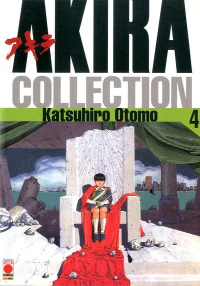Cover image of Akira Collection #4 (ITA), black&white
