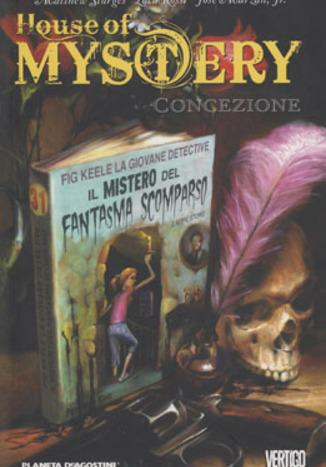 Cover image of House of Mystery 7: Concezione, color