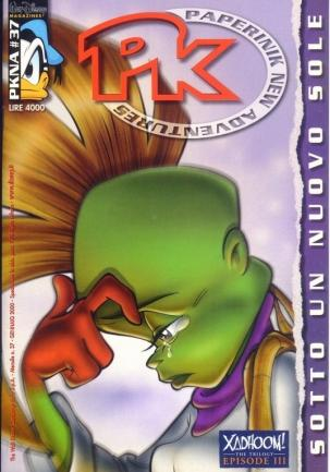 Cover image of PK - Paperinik New Adventures #37, color