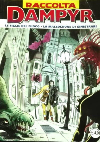 Cover image of Raccolta Dampyr #52, black&white