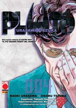 Cover image of Pluto #4 (ITA), black&white