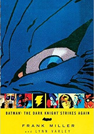 Cover image of The Dark Knight Strikes Again, color