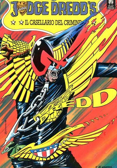 Cover image of Judge Dredd - Il casellario del crimine (4/4), color