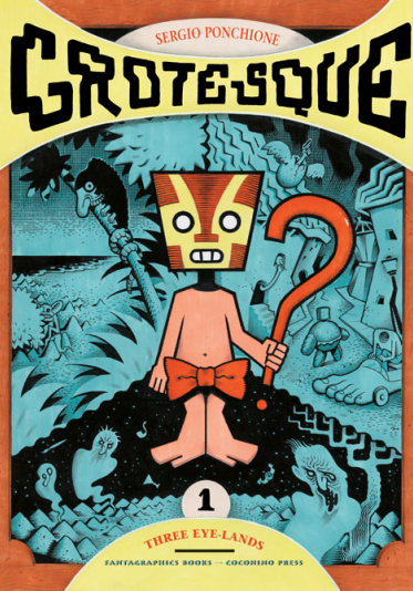 Cover image of Grotesque #1 (ITA), color