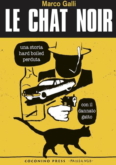 Cover image of Le chat noir - Galli, black&white