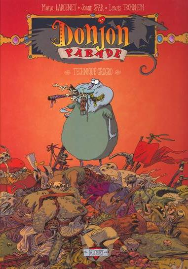 Cover image of Donjon Parade 5 - Technique Grogro, color