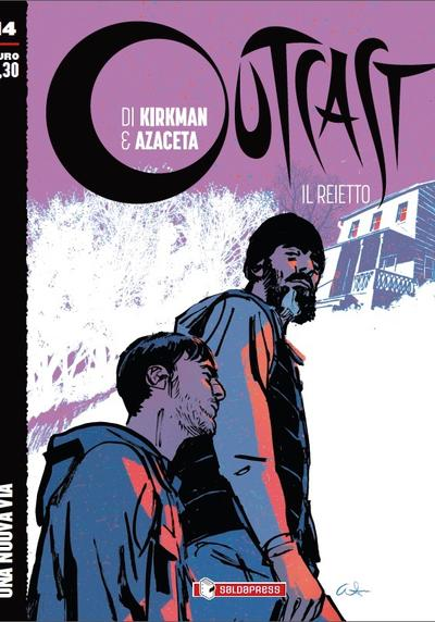 Cover image of Outcast #14 (ITA), black&white