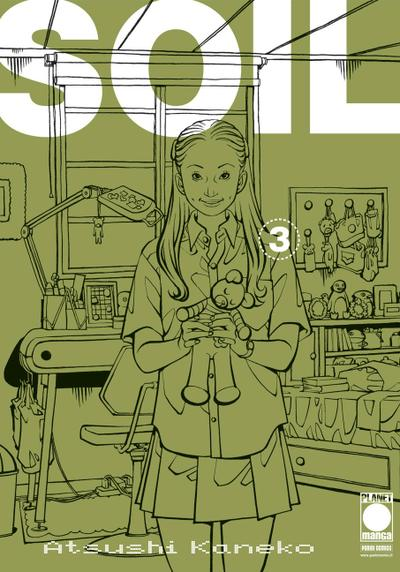 Cover image of Soil #3 (ITA), black&white