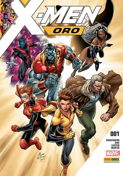 Cover image of X-Men Oro #1, color