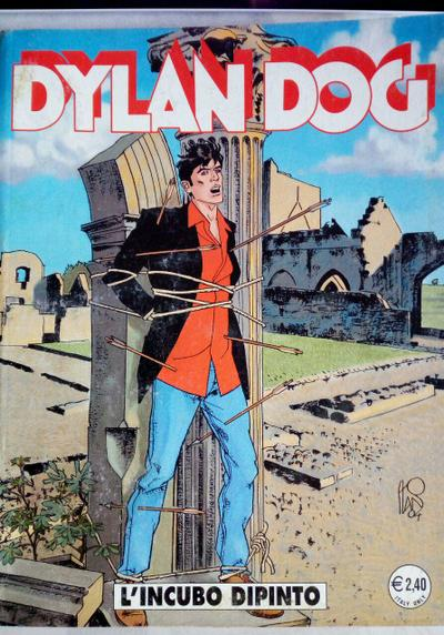 Cover image of Dylan Dog #218, black&white