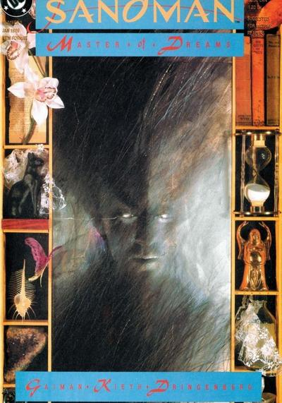 Cover image of Sandman #1, color