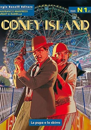 Cover image of Coney Island #1, black&white