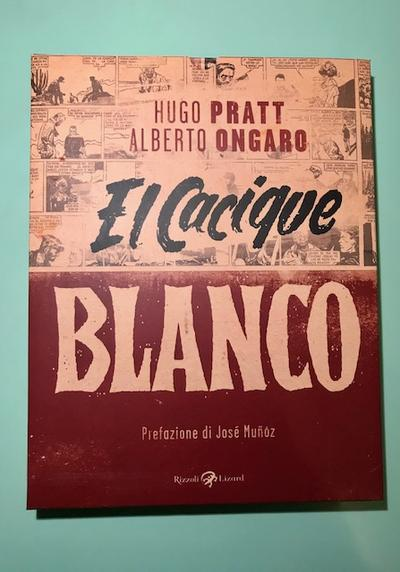 Cover image of El Cacique Blanco, black&white