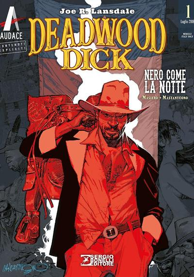 Cover image of Deadwood Dick #1, black&white