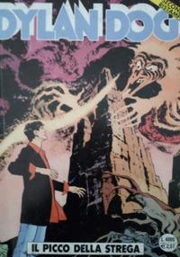 Cover image of Dylan Dog #124, black&white
