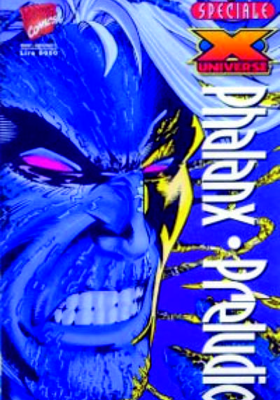 Cover image of Marvel Crossover #11 - X-Universe: Phalanx - Preludio, color