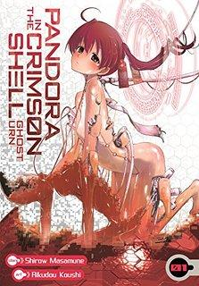 Cover image of Pandora In the Crimson Shell: Ghost Urn #01 (ITA), black&white