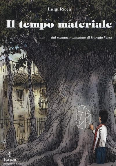 Cover image of Il tempo materiale, black&white