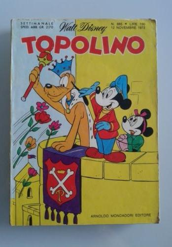 Cover image of TOPOLINO #885, color