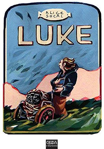 Cover image of Luke, black&white