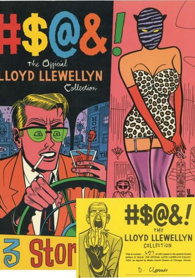 Cover image of #$@&! L'antologia ufficiale di Lloyd Llewellyn (ITA), black&white