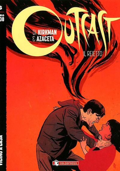 Cover image of Outcast #6 (ITA), black&white