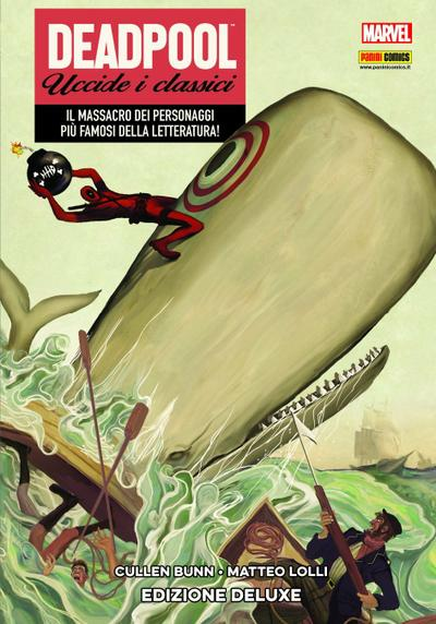 Cover image of Deadpool uccide i classici, color