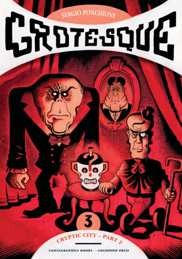 Cover image of Grotesque #3 (ITA), color