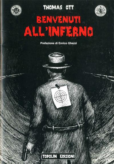 Cover image of Benvenuti all'inferno., black&white