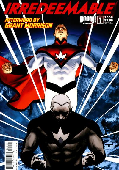 Cover image of Irredeemable #1, color