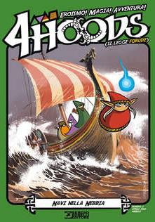 Cover image of 4Hoods #2, color
