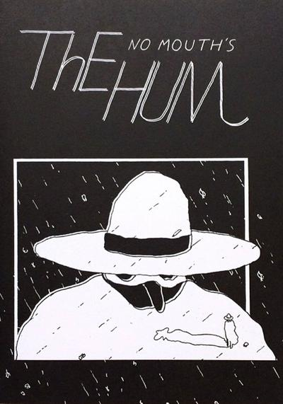 Cover image of No Mouth's The Hum, black&white