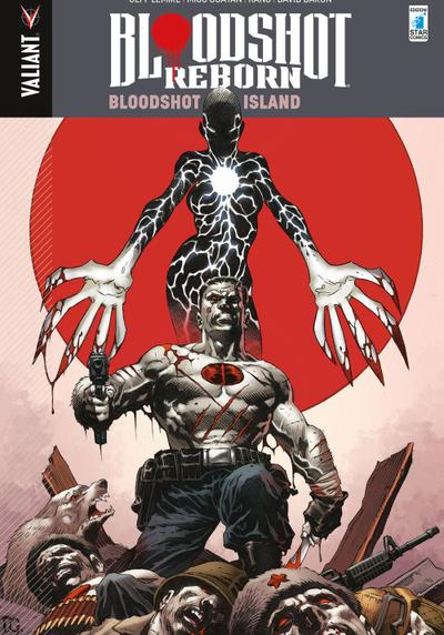 Cover image of Bloodshot reborn vol.4 - Bloodshot Island, color