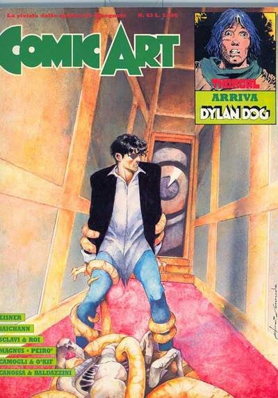 Cover image of Comic Art n°63, color