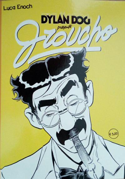 Cover image of Dylan Dog presenta Groucho #3, black&white