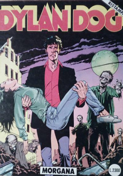 Cover image of Dylan Dog #25, black&white