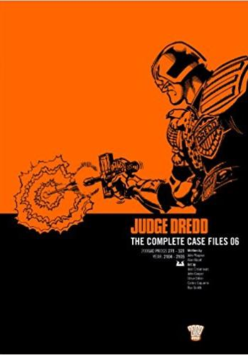 Cover image of Judge Dredd: Complete Case Files v. 6, black&white