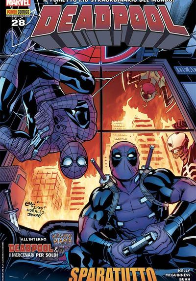Cover image of Deadpool #28 (ITA), color