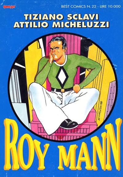 Cover image of Roy Mann-Comic Art, color