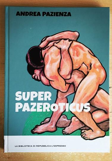 Cover image of Superpazeroticus, color