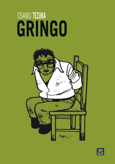 Cover image of Gringo #1, black&white